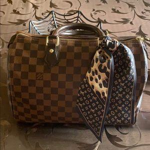 Gorgeous Louis Vuitton speedy 30 damier ebene bag